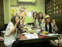 2011.8.6 新居浜東高校の素敵なOGの皆さん1
