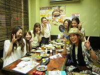 2011.8.6 新居浜東高校の素敵なOGの皆さん2