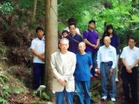 2011.8.8 朝鮮人慰霊祭で挨拶する朝鮮総連の朴委員長
