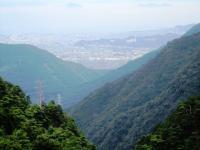 2011.8.8 東洋のマチュピチュから新居浜を望む