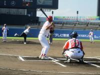 2011.8.27 佐々木宮城県議の始球式