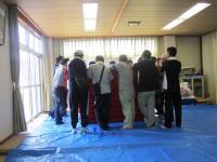 2011.9.11 東田太鼓台 重の改修7