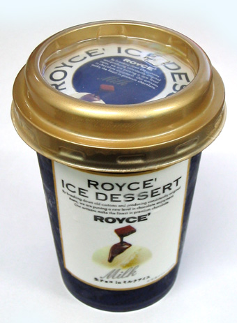 『赤城乳業』のロイズアイスデザート ミルク