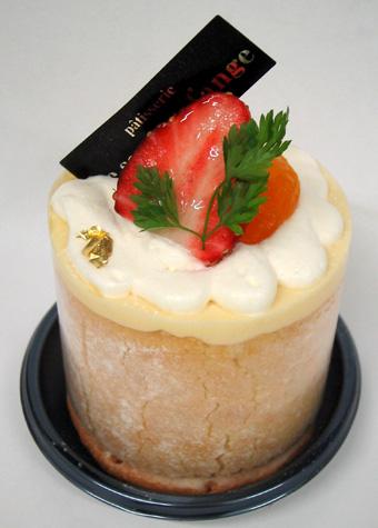 『ル・スリール・ダンジュ』のオレンジのケーキ