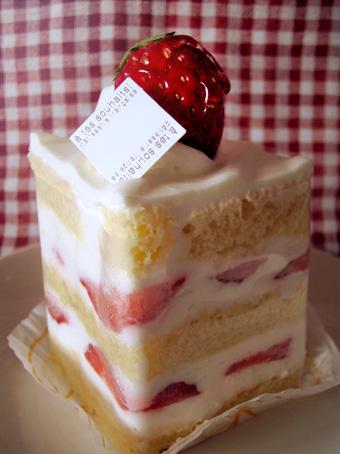 『アテスウェイ』の苺のショートケーキ