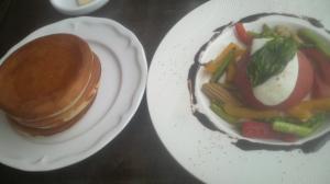 季節の野菜&パンガレット