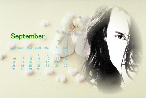 ブログ用カレンダー2009年9月