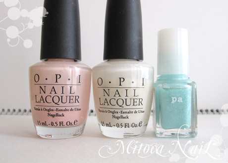OPI#H19 Passion(パッション)/OPI#H29 Time-less Is More(タイムレス イズ モア)/pa ネイルカラー A134 マカロンアクア