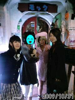 ハロウィン女装3