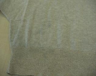 セーター色移り3