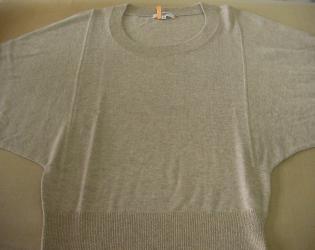 セーター色移り4