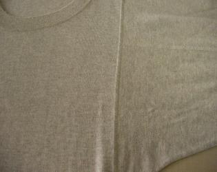 セーター色移り5