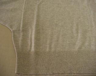 セーター色移り6