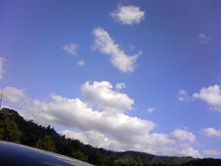 今日の空!