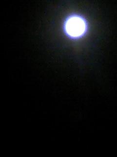 今夜の満月!