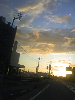 綺麗な夕空!(3)