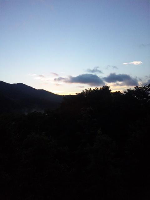 箱根朝焼け