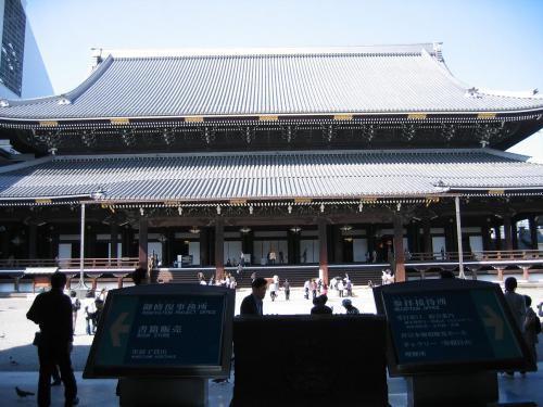 東本願寺正面