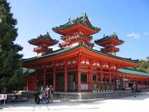 平安神宮横
