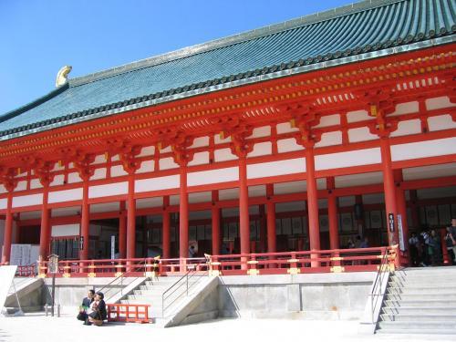 平安神宮ナナメ