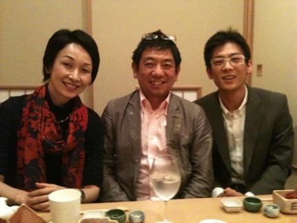 田中社長と聡一朗さんと