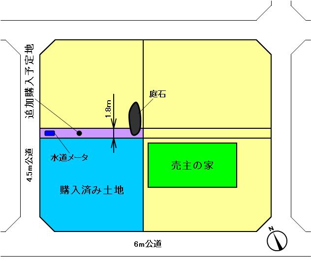現在の敷地(修正)