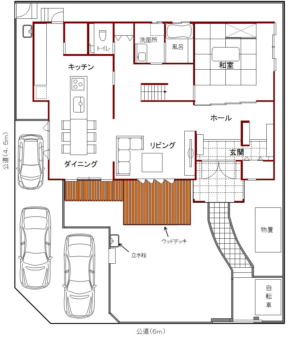 20120219(隣地購入後外構案)