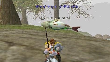 キュリオ:魚で名前が隠れた