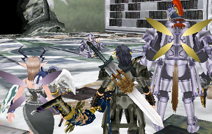 弓刀剣:宮殿に狩り