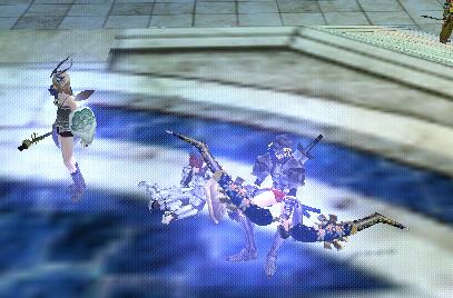 弓刀剣:褌で待機
