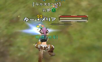 らぴ:メリア収穫