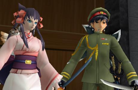 御庭番:軍服