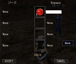 Enaneus:回復アイテム