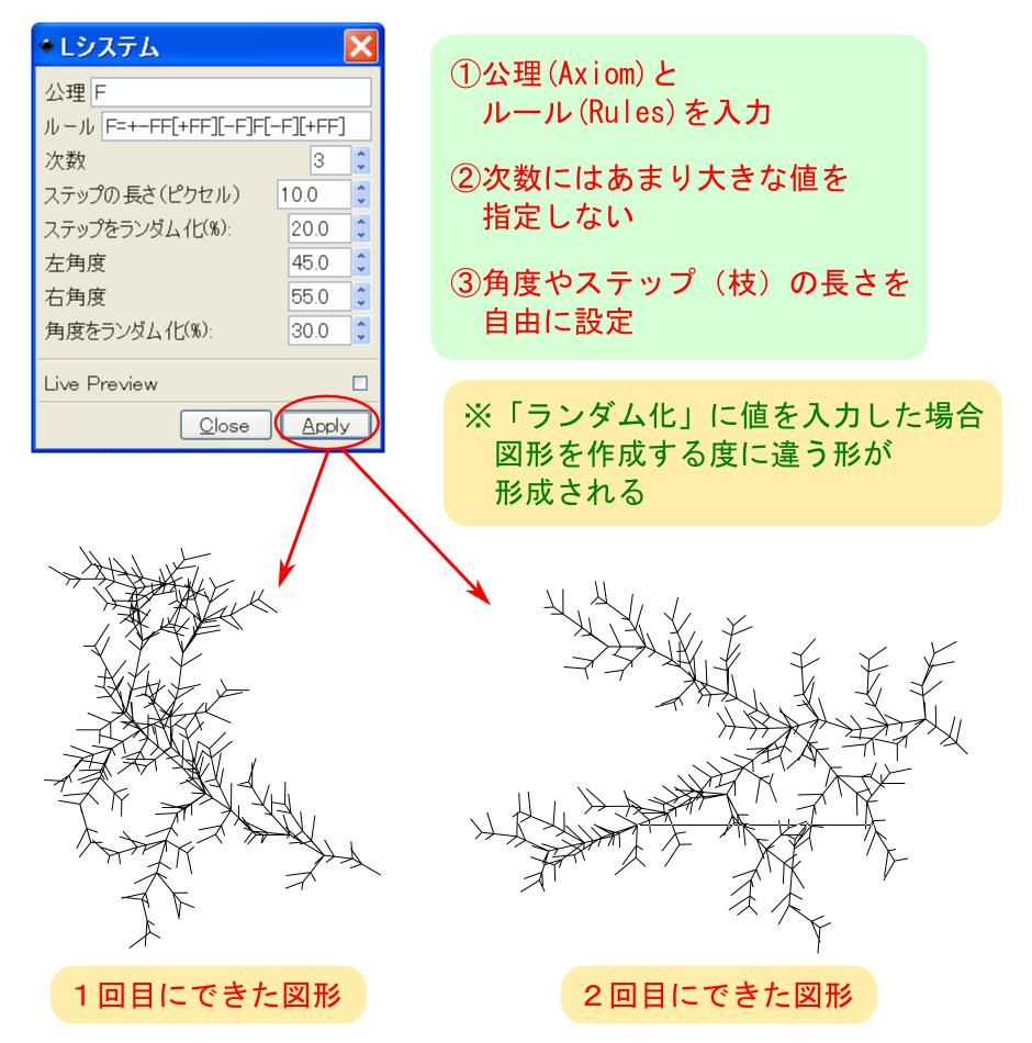 ギャラリー画像14_「Lシステム」ダイアログの設定