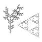ギャラリー画像14_植物構造・自己相似・フラクタル図形(Lシステム)