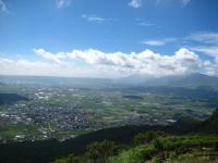 兜岩展望所から阿蘇平野