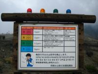 阿蘇火口 警報レベルは黄色!