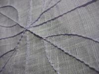 モシのつまみ縫い