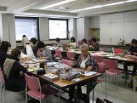 朝日カルチャーポジャギ教室