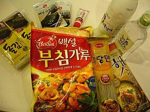 お土産(韓国食材編)
