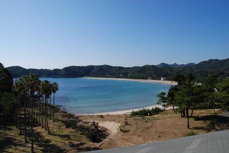 日本の渚100選の景色