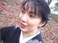 【無修正】艶っぽい和服美人と生ハメ、顔射!!