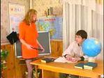 ブロンドS女教師が生徒を逆レイプ!