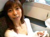 YouTubeエロ動画のココロ:極上美女、乃亜ちゃんが新幹線の車内でセックスしまくる!