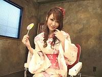 EroNet - えろねっと -:【無修正】進藤美空 着ハメキャンディ 浴衣で豪快3P