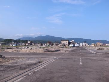 山田町中心地