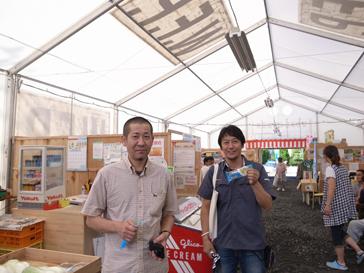 山田町テント商店街