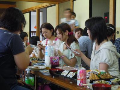 平成23年  7月3日  八小女子ミニバス打ち上げ。 006
