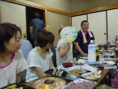 平成23年  7月3日  八小女子ミニバス打ち上げ。 014