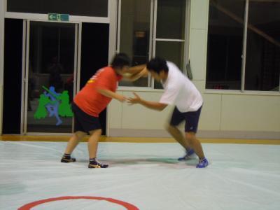 平成23年  7月27日  レスリング練習 007